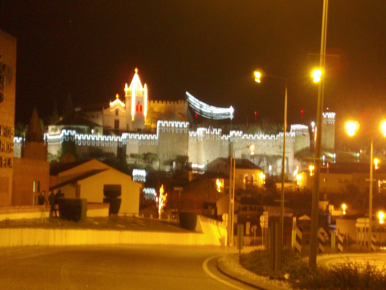 Vista del Castillo de Penela