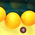 Cuatro naranjas