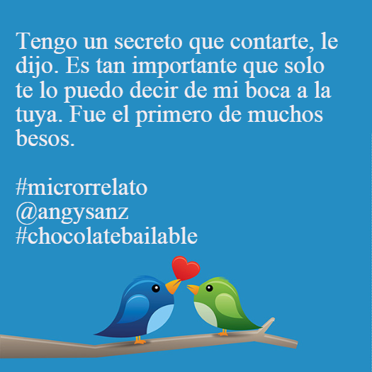 microrrelatos chocolate bailable